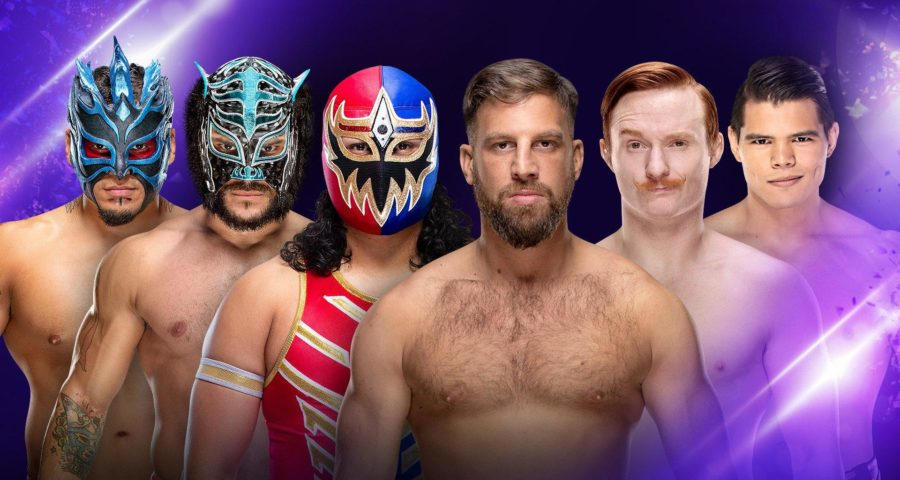 205 Live 03/26/19) Lucha House Party vs Submission Commission