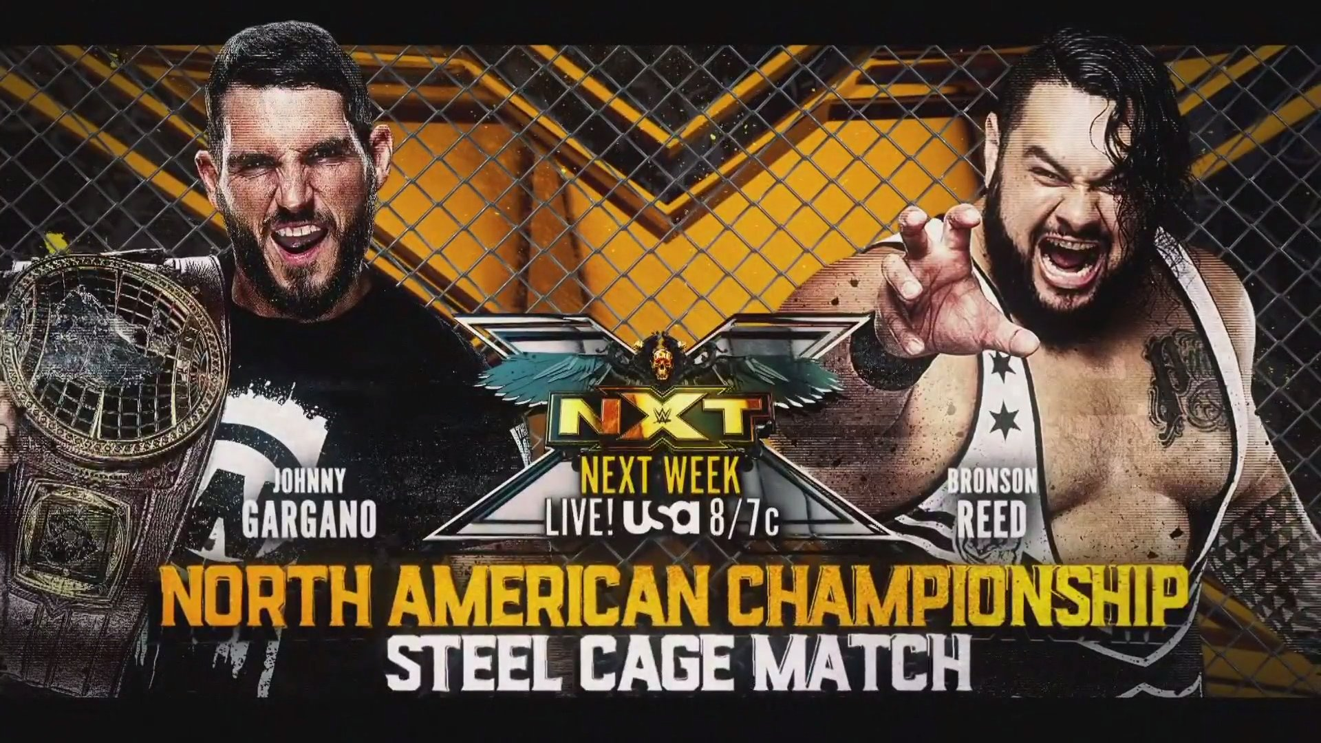 Cage Match and Women's Match Set for Next Week's WWE NXT Show