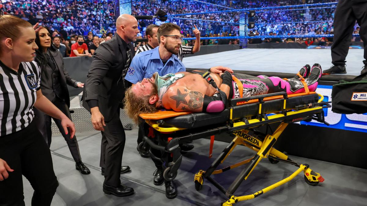 Update On Edge's Status In WWE After Getting Injured By Seth Rollins 93